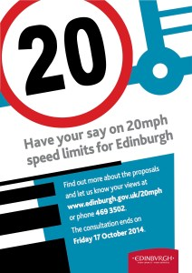 20mph Poster