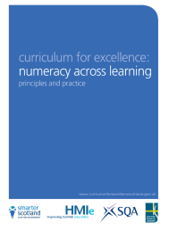 numeracy across learning principles and practice