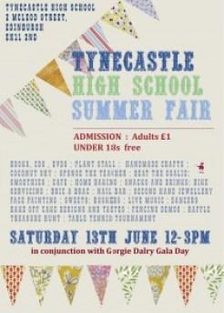Tynecastle Fair Poster 2015