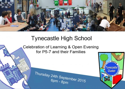 Open Evening Invite 2015