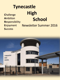 Summer Newsletter 2016