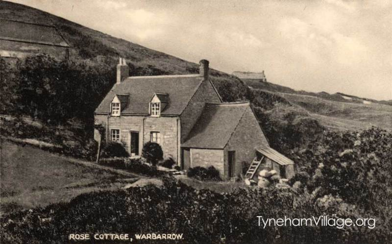 Rose Cottage in Worbarrow Bay