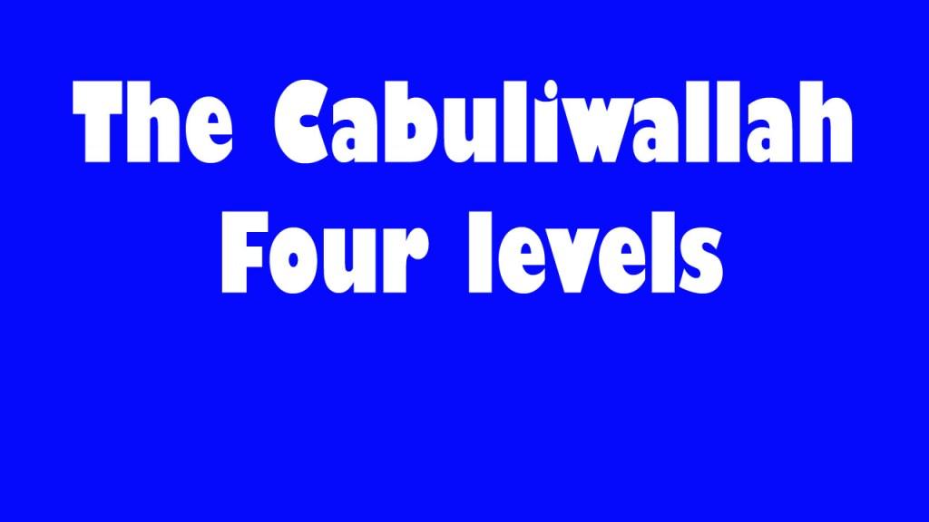 Cabuliwallah story image