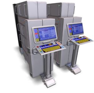 picture of mainframe computer