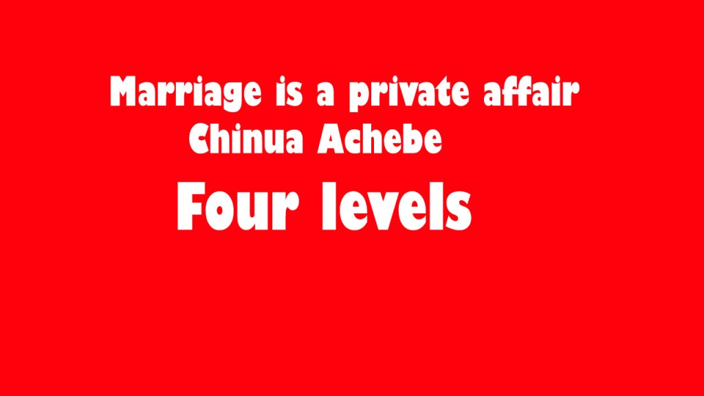 Image of Marriage is a private affair