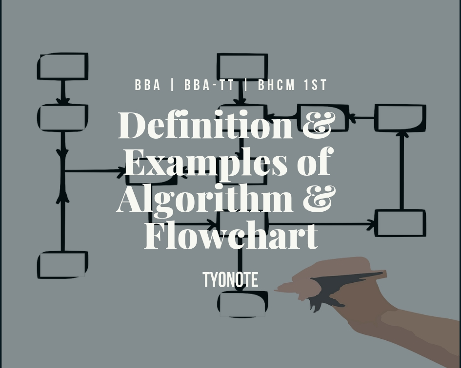 definition examples algorithm flowchart