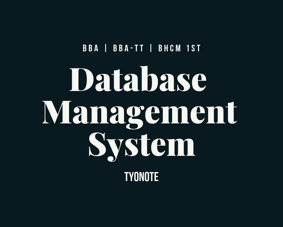 DBMS RDBMS definition