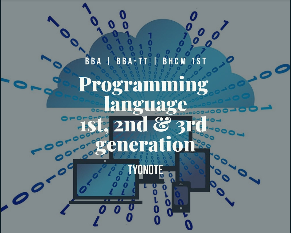 programming language first second third generation advantages disadvantages