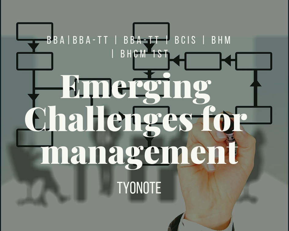 emerging management challenges