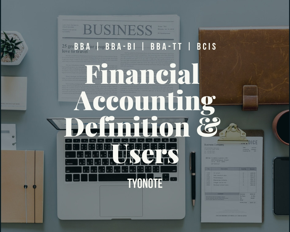 financial accounting definition users