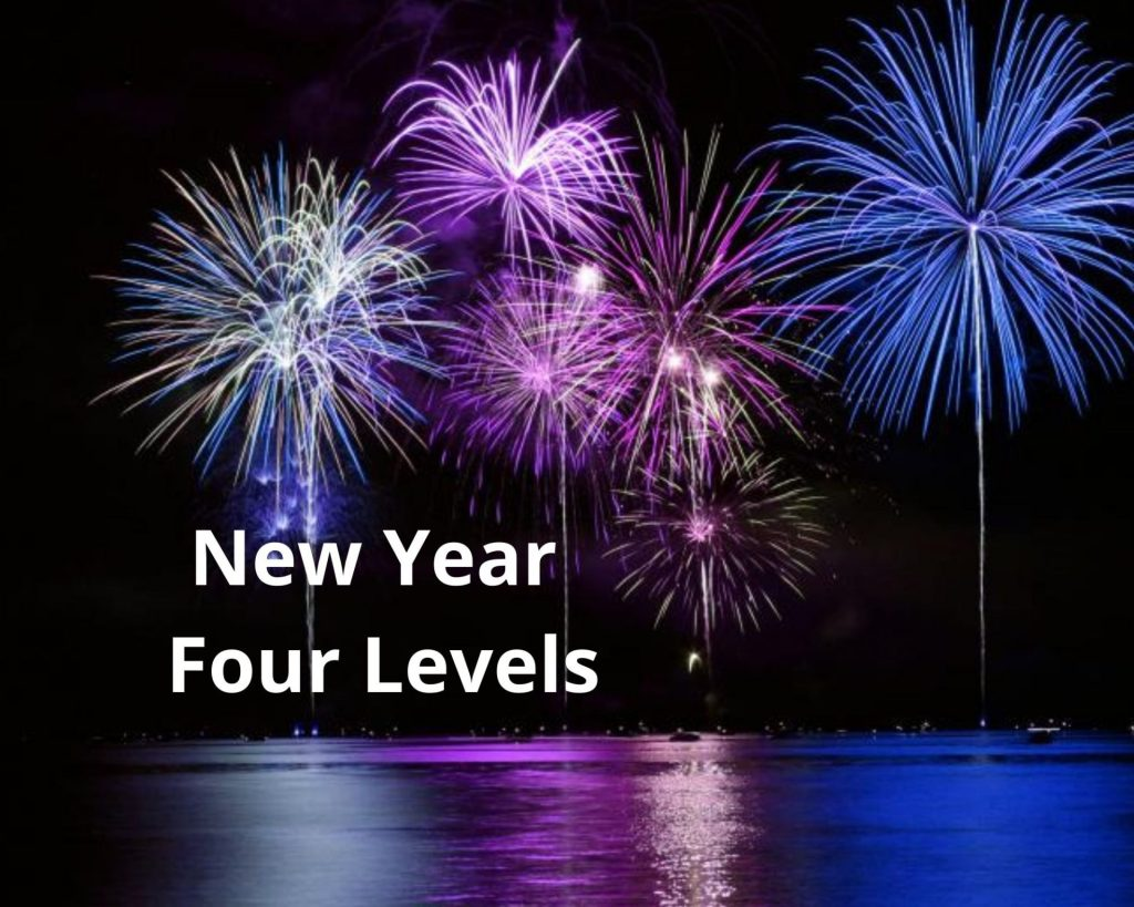 new year four levels