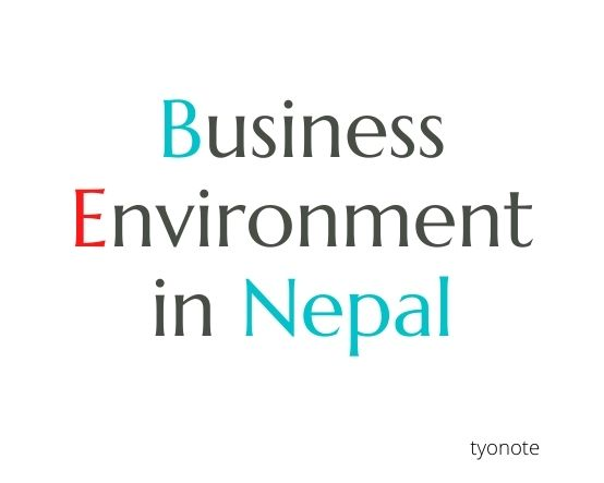 business environment in Nepal