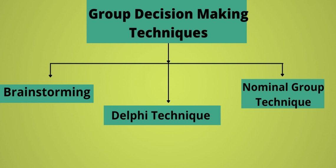 Group Decision Making Techniques