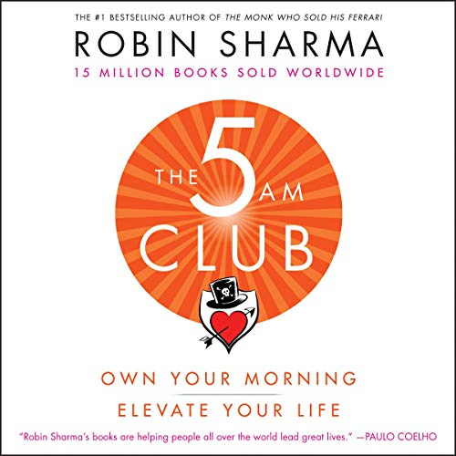 The 5 AM Club one of self improvement books