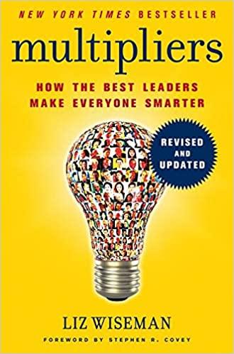 multipliers one of leadership books