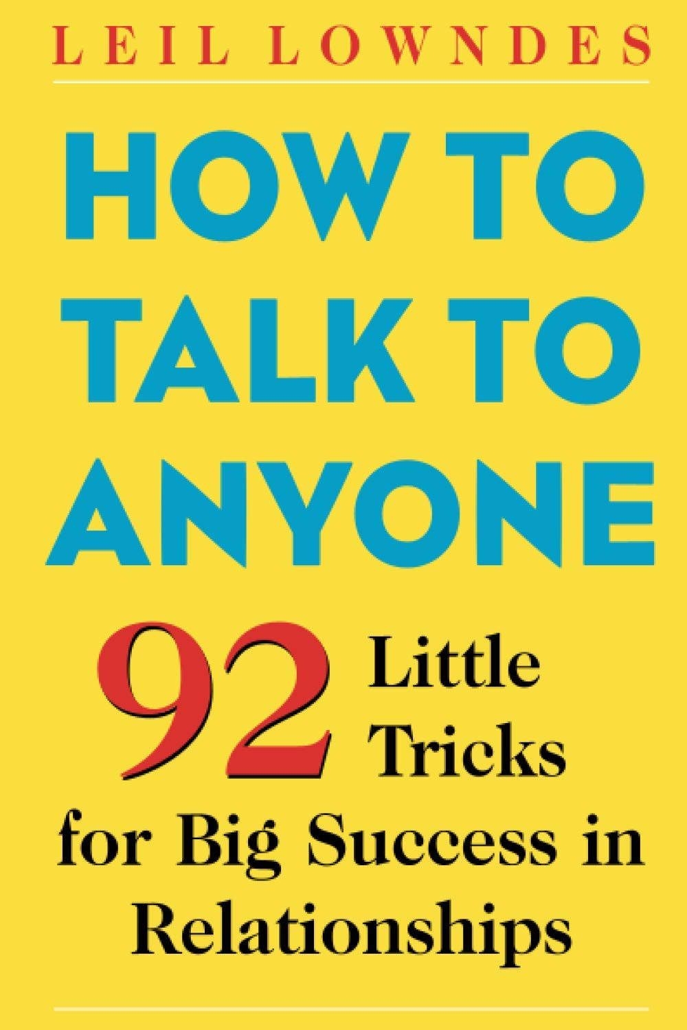 how to talk to anyone one of best public speaking books