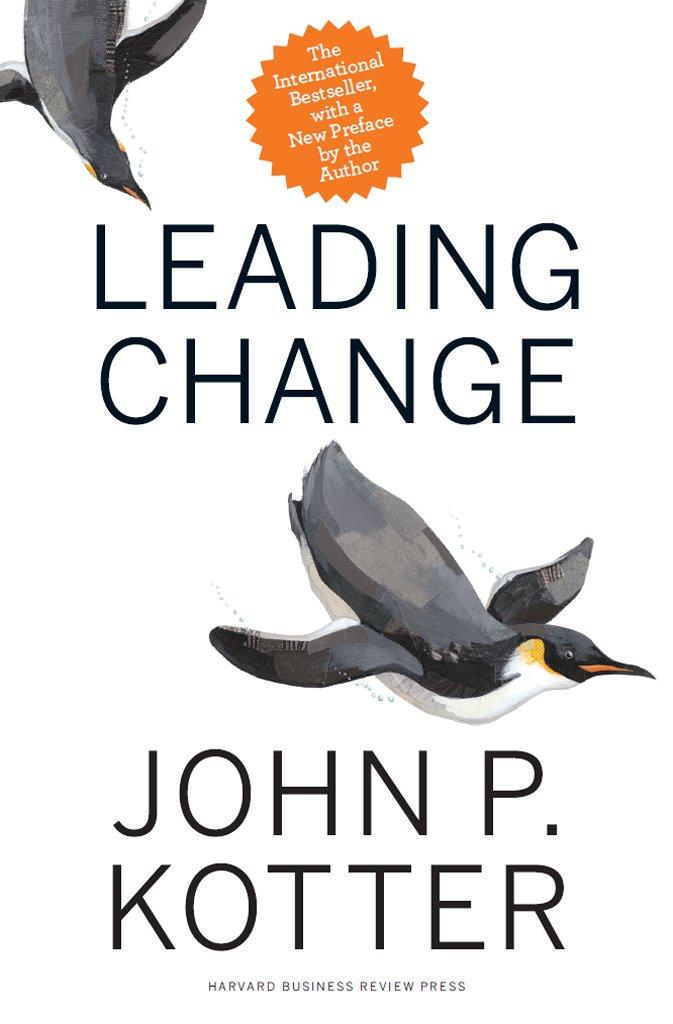 leading change one of leadership books