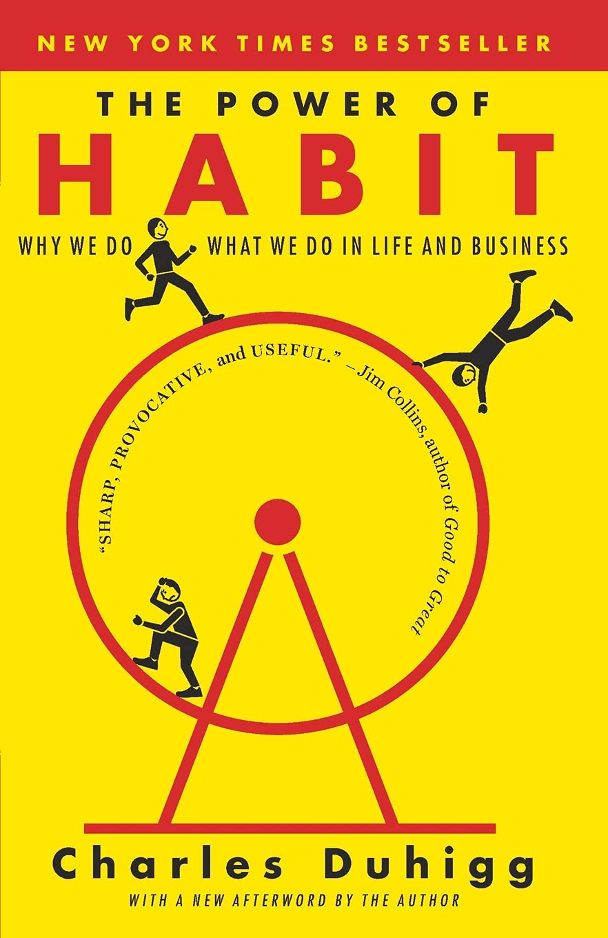 the power of habit one of motivational books