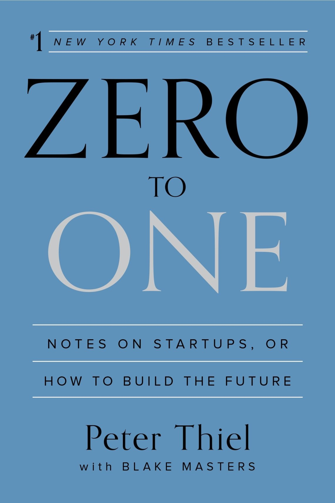 Zero to One one of business books