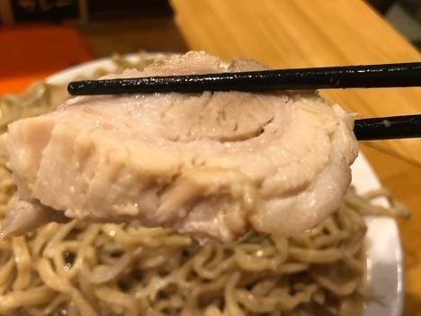 坂戸二郎系ラーメン麺たなか大盛りラーメンヤサイマシ豚リフト