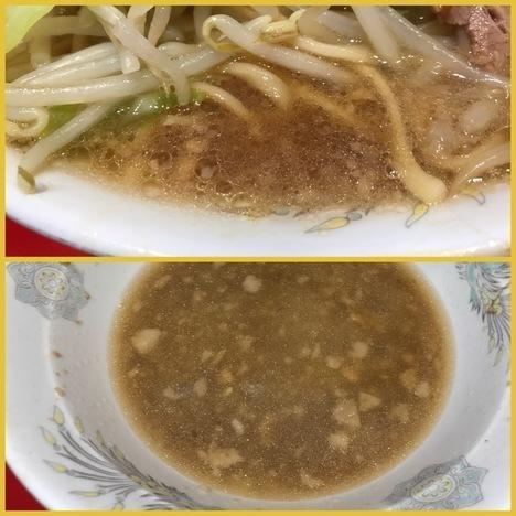 ラーメン二郎西台大ラーメンスープ