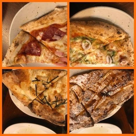 宇都宮ピザ食べ放題ナポリの食卓大食い