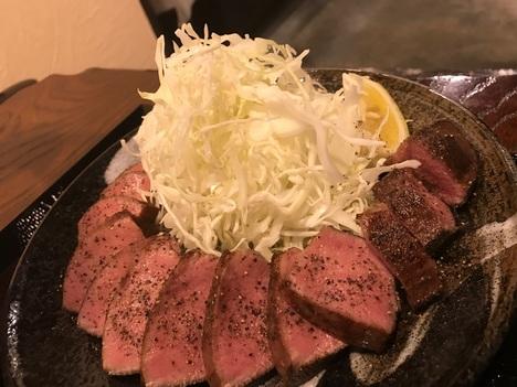 熟成肉とんかつ上尾キセキ食堂熟成牛タン定食
