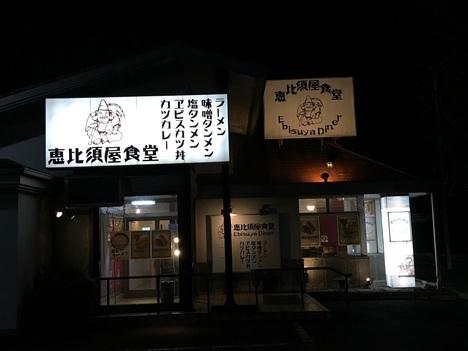 東松山恵比寿屋食堂外観