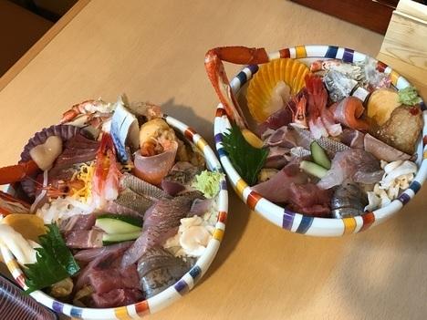 島根松江まつや絶品大盛り海鮮丼