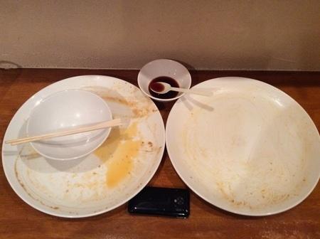デカ盛りハンバーグ完食