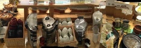 ファーマーズガーデン菖蒲食べ放題バイキングパノラマ撮影