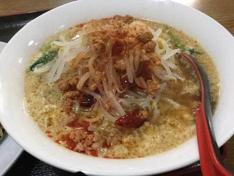 高崎市新町台湾料理隆福園高菜チャーハン担々麺