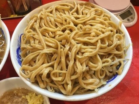 ドンキタモト別盛麺増し野菜トリプル天地返し