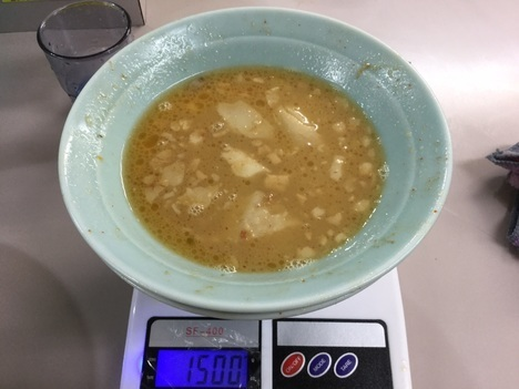 立川マシマシ足利つけ麺大ヤサイマシマシスープ割