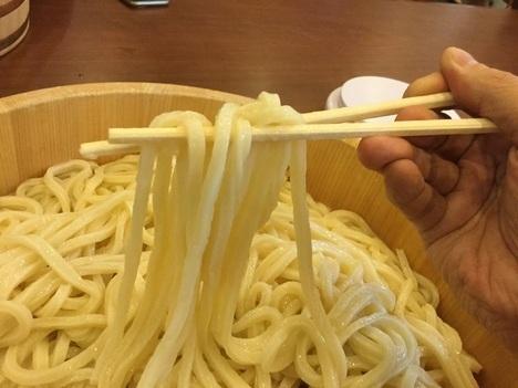 丸亀製麺1日釜揚げ半額DAY10玉分麺リフト