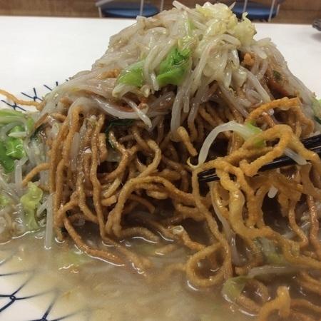 ポパイら~めんチョモランマ麺リフト