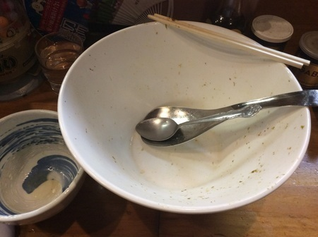 二代目蝦夷トリプル焼肉丼完食