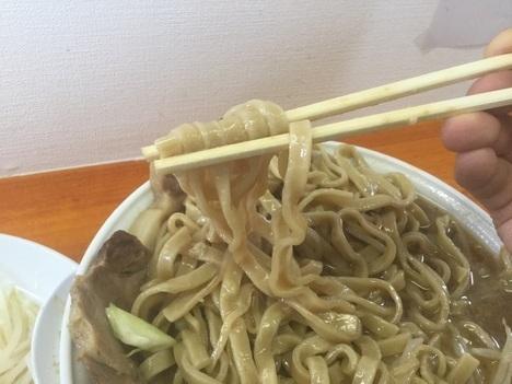 太田ラーメン長嶋二郎系麺リフト