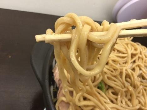 高崎山盛りラーメン承太郎オラオラ盛り麺リフト