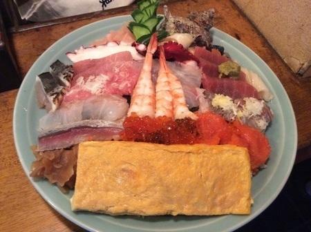 太田寿司広デカ盛り海鮮丼