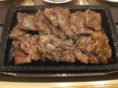 ステーキガスト北本食べ放題イベントカットステーキ