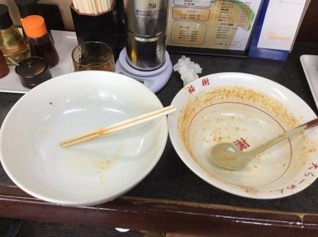 大ラーメン福龍ブルーインパルス完食