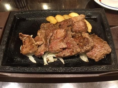 ステーキガストカットステーキ食べ放題イベント初回提供品