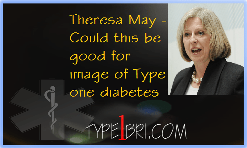 Theresa May, T1D at the top