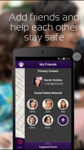 bsafeApp Contacts Type 1 To Go Teen