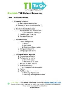 T1D College Resources