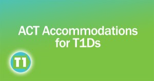 ACT accommodations for people with diabetes