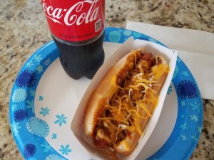 Brandon Green's story about a chili dog for a low blood sugar