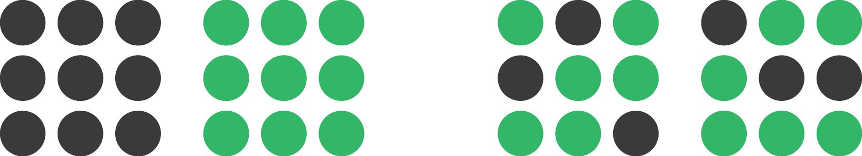 Gestalt principle of proximity