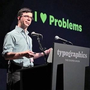 Tobias Frere-Jones at Typographics
